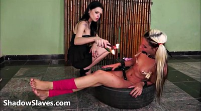 Lesbian bdsm, Extreme, Wax, Punished, Waxing, Gay bdsm