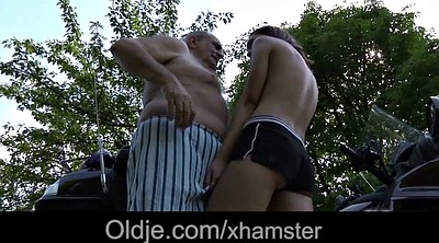 Grandpa, Lips, Tongues, Old pussy, Old grandpa, Cumshot pussy