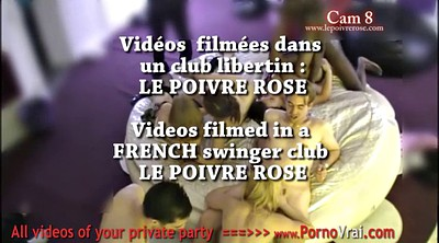 French, Swinger, Swingers party