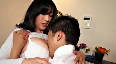 Japanese mature, Creampie mature