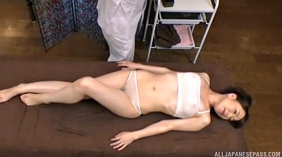 Oil massage, Asian panties