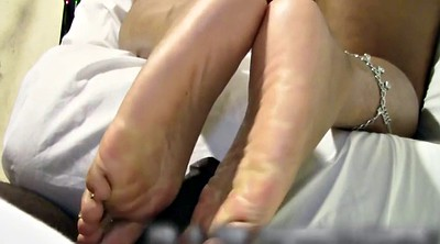 Foot fetish, Sole, Watching porn