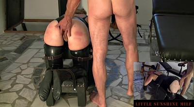 Spanked, Master, Fat ass