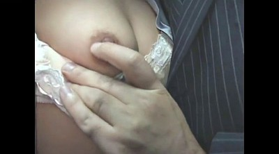 Japanese public, Perverse, Asian handjob