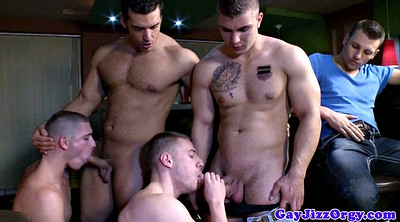 Handjob, Gay muscle, Bar, Gay sex, K bj