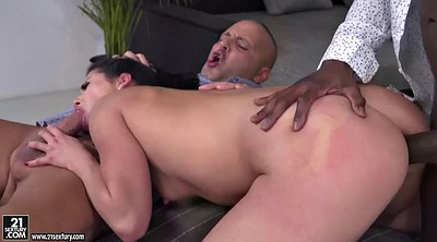 Secretary, Jesse, Ebony threesome