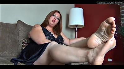 Nylon feet, Nylon foot, Bbw foot, Leg