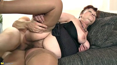 Mature, Milf, Grannies, Old and young