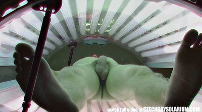 Young man, Solarium, Czech gay, Gay cam, Young cam, Secretly filmed