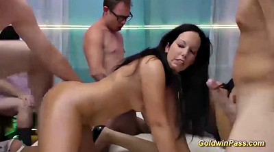 Orgy, Extreme anal, Anal german
