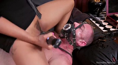 Blacked, Squirting, Mistress femdom, Ride dildo, Mistress t