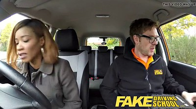 School, Young creampie, Fake driving school, Fake driving