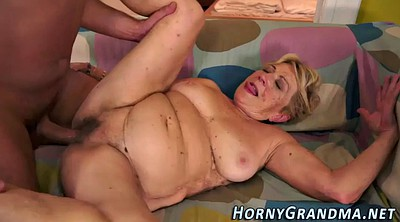 Grandma, Hairy mature, Mature big tits, Grandma hd, Creamed