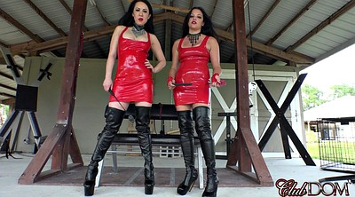 Bdsm, Red, Dirty talk, Red milf, Suit, Talking