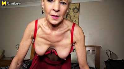 Grannies, Mature dildo, Mature amateur