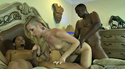 Double anal, Blacked creampie