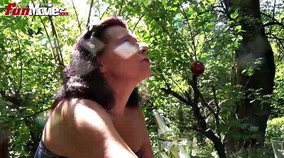 Movie, Old woman, German mature, Tees, A movie, Mature outdoor