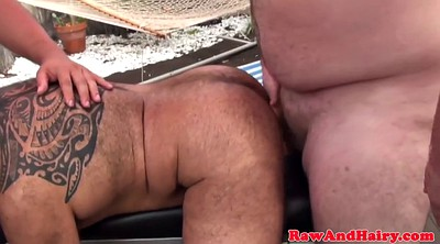 Raw, Gay bear, Chubby anal, Anal hairy