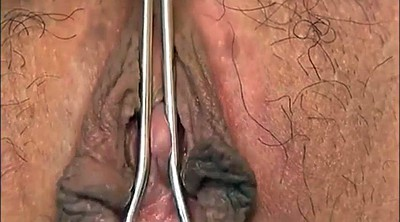 Japanese show, Hairy big clit