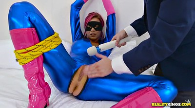 Gloves, Tied orgasm, Boot, Vibrator squirt, Heroines