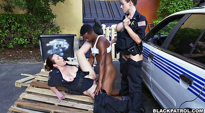 Police, Two black, Eager