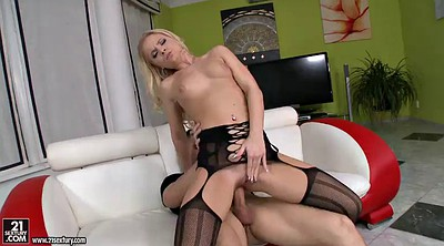 Stocking anal, Throat fuck, Stockings anal, Giving head, Blonde stockings, Anal stockings