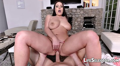Angela white, Big feet