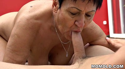 Old guy, Younger, Mature massage, Granny eating