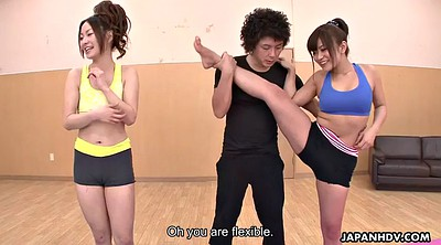 Flexible, Japanese dildo, Yoga sex