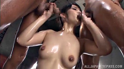 Asian guy, Hairy threesome, Asian threesome, An
