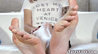 Feet, Shemale feet, Trans, Footworship