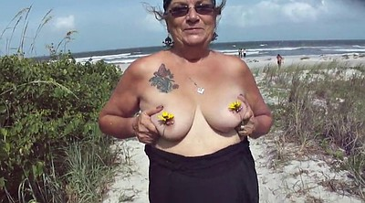 Nipple, Beach mature