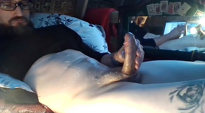 Huge cock, Belly, Huge load, Busted