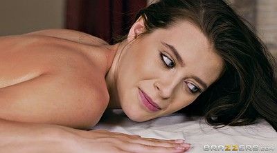 Oil massage, Rhoades, Lana rhoades