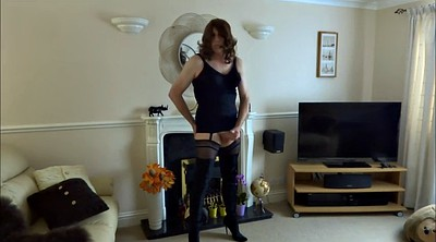 Stocking, Boots, Sexy stockings, Crossdress
