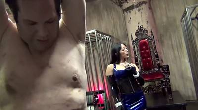 Latex, Whipping, Asian femdom
