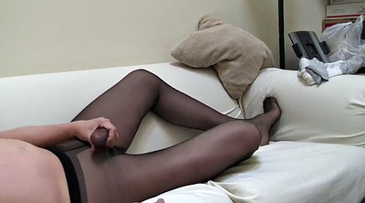 Solo girl, Gay pantyhose, Dress, Crossdresser
