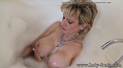 Sonia, Mature shower