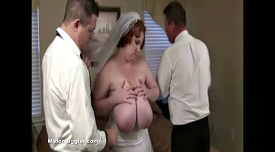 Wedding, Wed, Sapphire, Bbw big tits