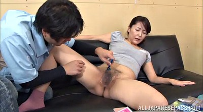 Asian, Mmf, Double blowjob, Asian threesome