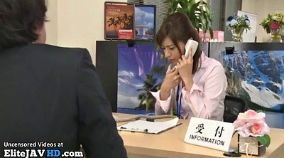 Footjob, Japanese massage, Japanese foot, Japanese pantyhose, Japanese office, Boss
