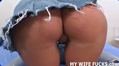 Watching wife