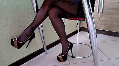 High heels stockings, High heels