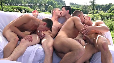 Gay, Sex party, Open, Wank