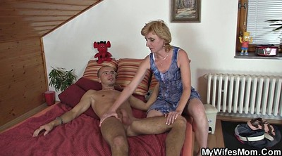 Granny mature, My mom, Young mom, Horny mom
