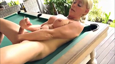 Cougar, Games, Pool table, Big cock shemale