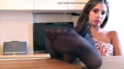 Nylon feet, Nylon foot, Ebony feet, Feet nylon, Ebony foot, Black nylon