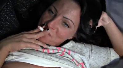 Smoking, Milf busty, German mature