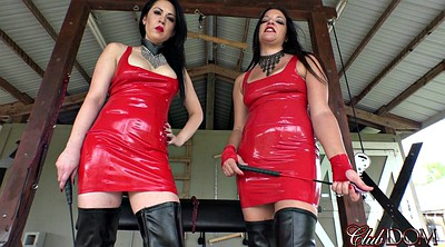 Suit, Dirty talk, Red milf, Dirty talking, Talking, Latex bdsm