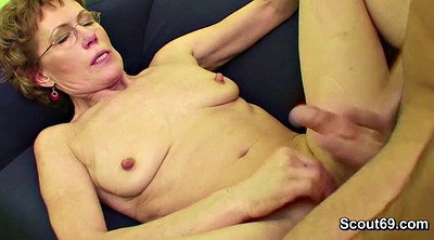 Granny anal, Old and young, Young boy, Help, Caught with